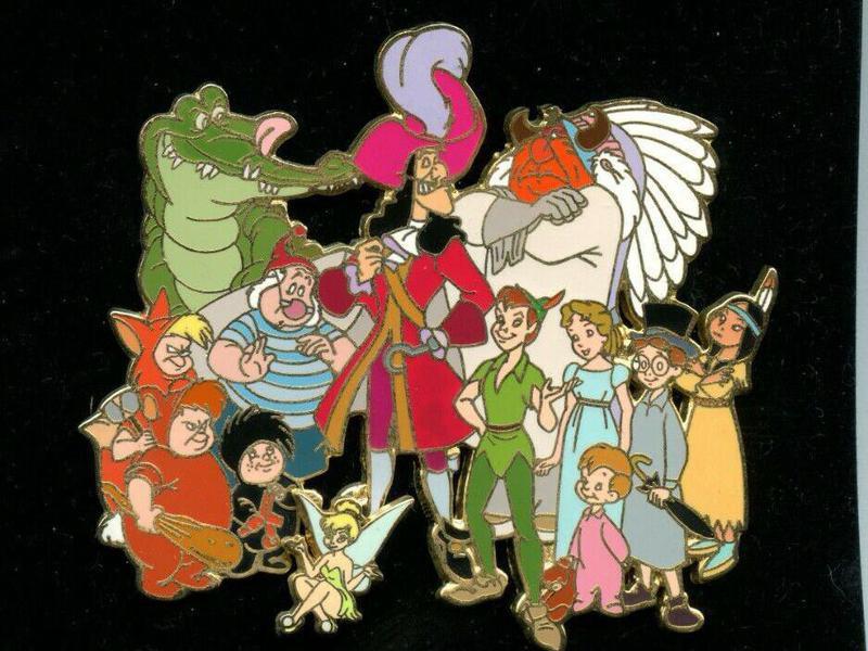 Disney Auctions Jumbo Peter Pan Pin