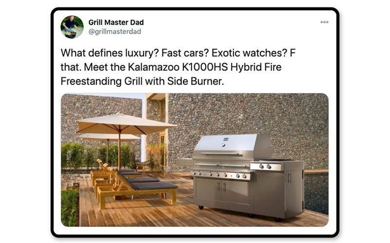 Luxury grill