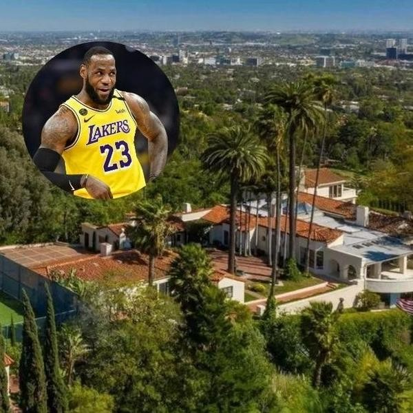 LeBron James Lives Like a King in Los Angeles