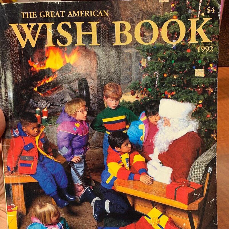 The Sears Christmas Wishbook