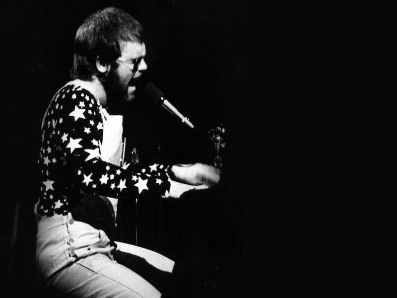 Elton John at the Troubadour