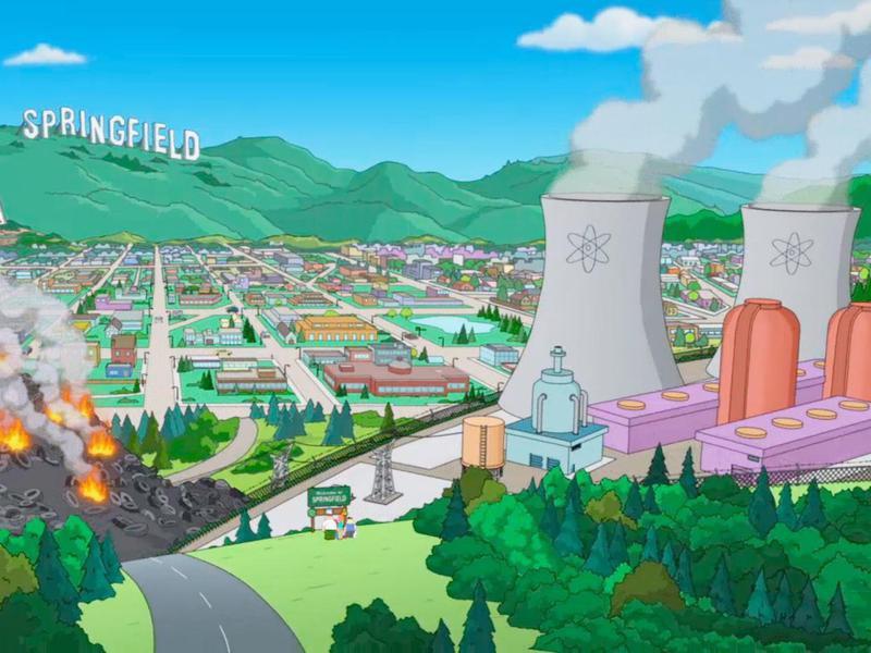 Springfield power plant