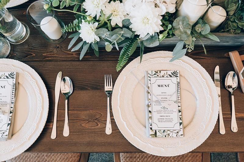 wedding reception details