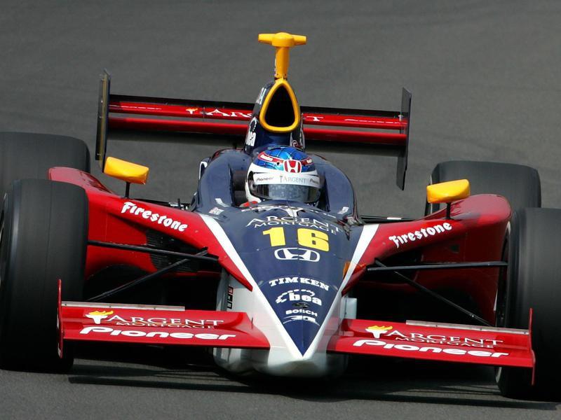 Danica Patrick steers Panoz Honda