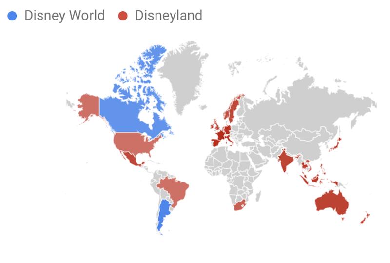 Disney World vs Disneyland