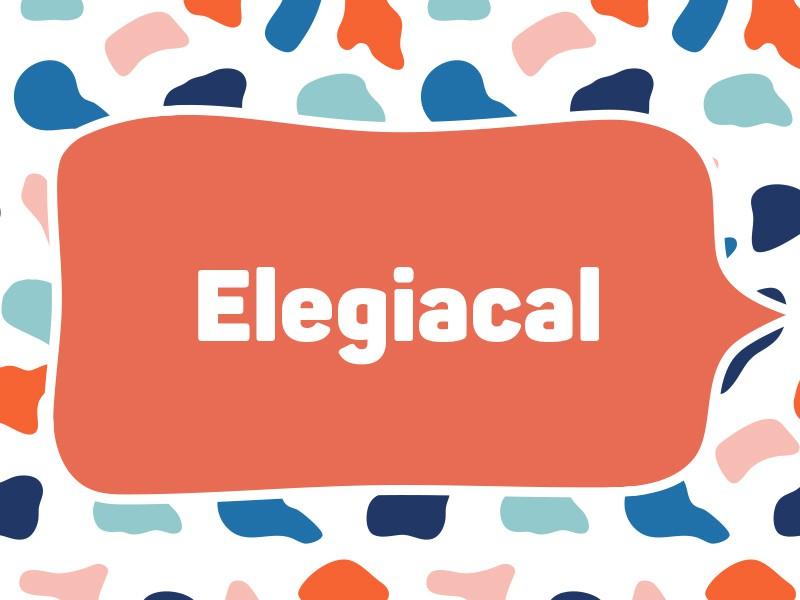 1988: Elegiacal