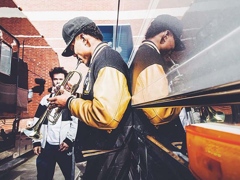 chance the rapper and donnie trumpet