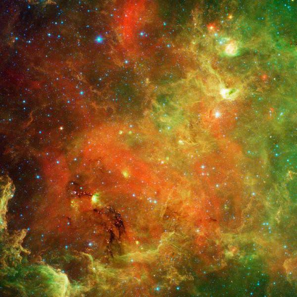 Gallery: The Infrared Universe Seen by NASA's Spitzer Space Telescope