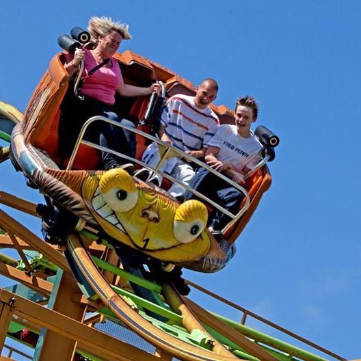 People on Treetop Twister