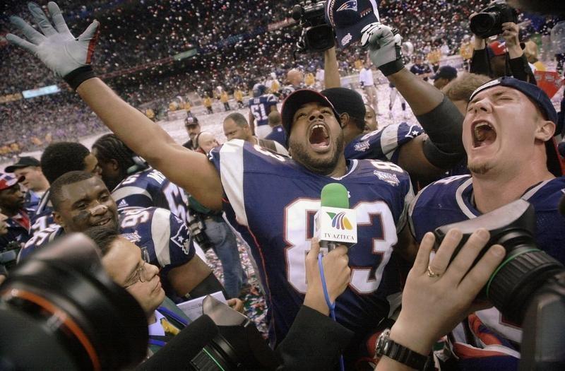 New England Patriots in Super Bowl XXXVI