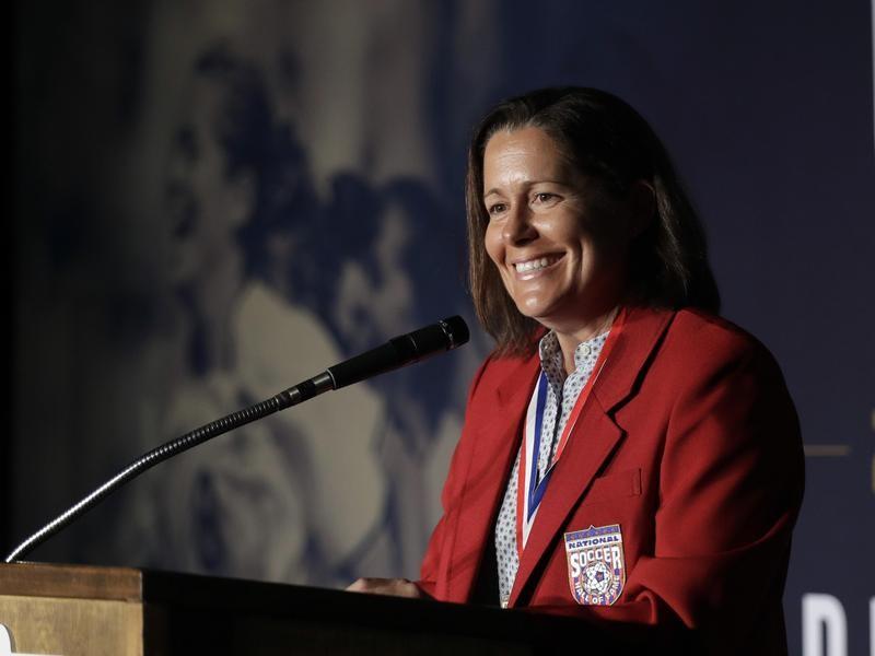 National Soccer Hall of Famer Shannon MacMillan