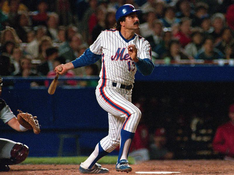 Keith Hernandez hits home run