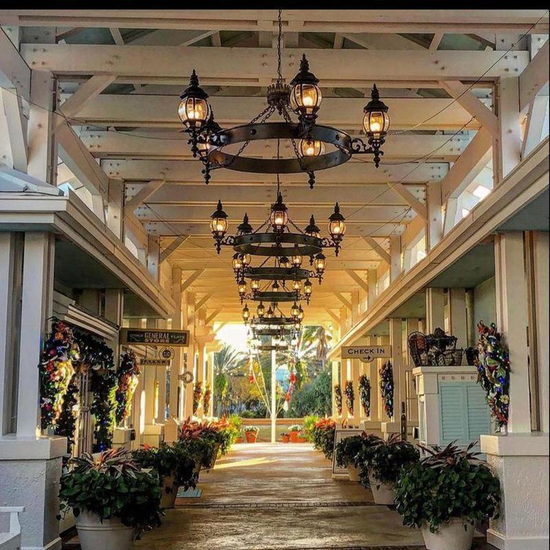 Hall at Disney's Old Key West Resort