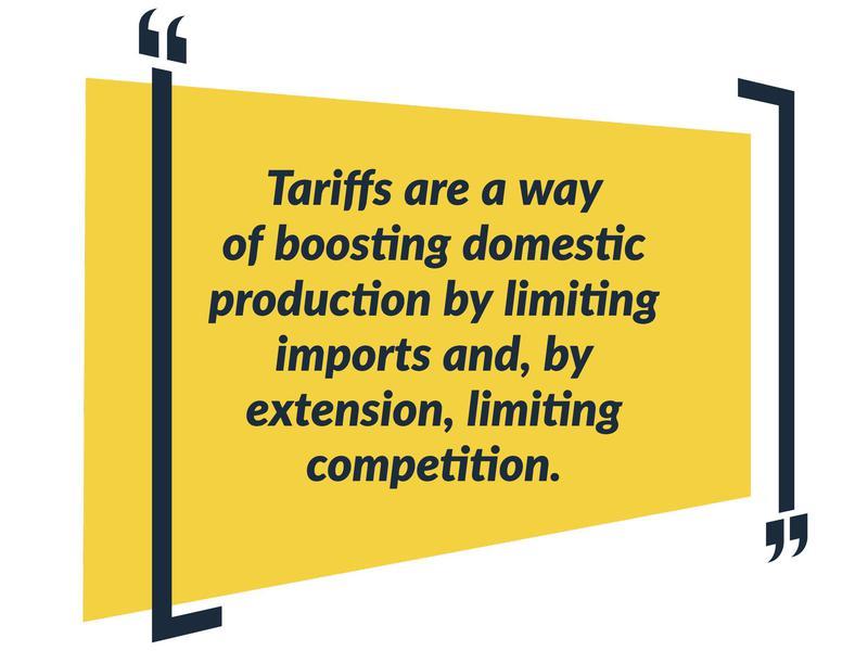 tariffs theoretically
