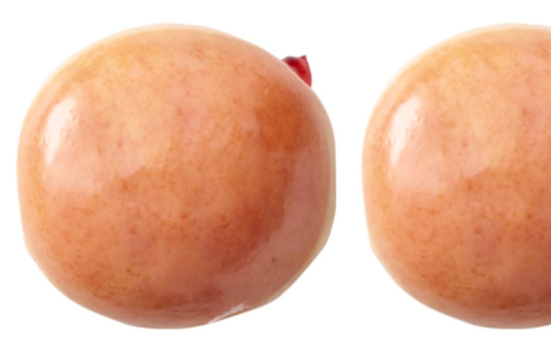 Glazed Raspberry Filled Donut