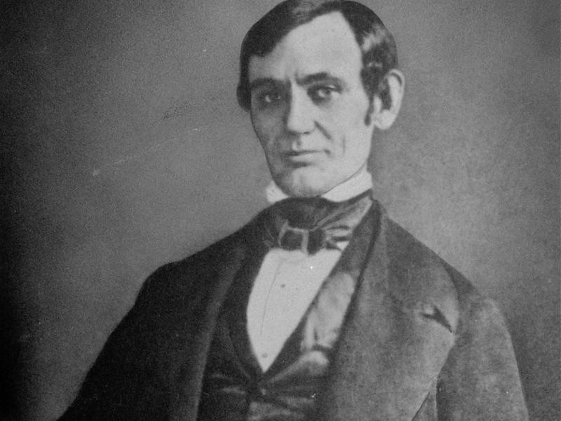 Abraham Lincoln in 1837