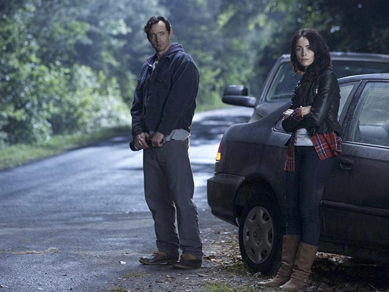 Abigail Spencer and Billy Harris in Rectify