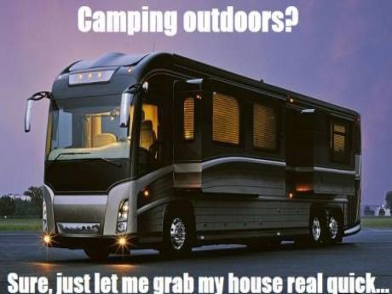 R.V. camping meme