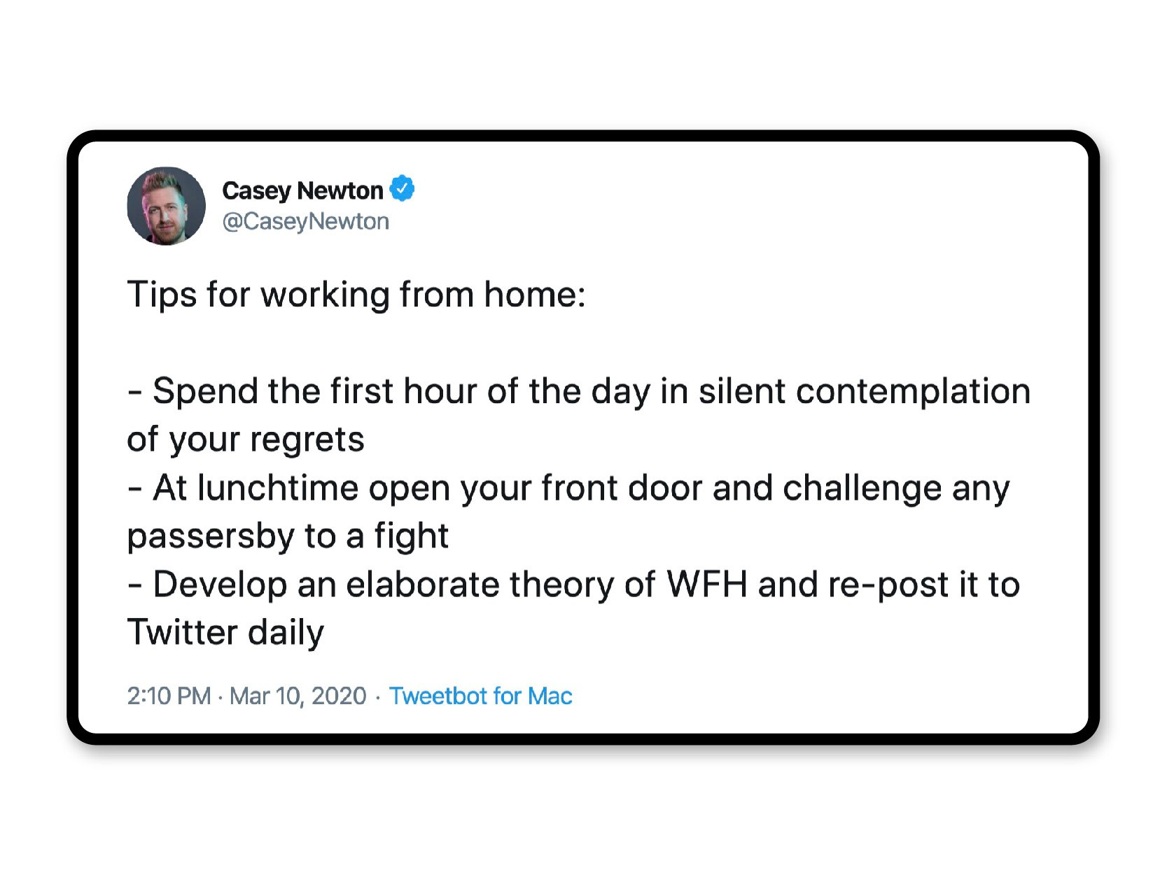 Work strategy