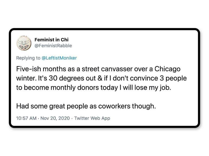 Worst jobs on Twitter