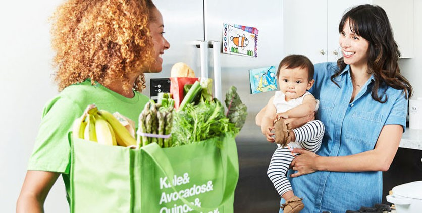 Instant shopper and customer