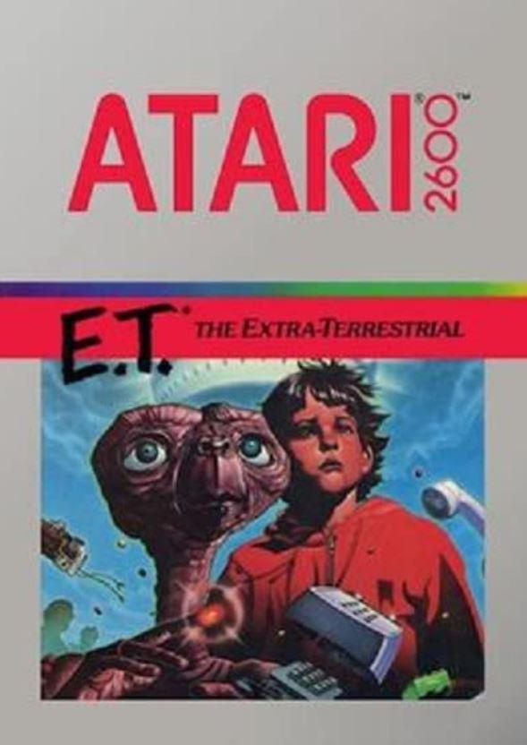 ET the Extra-Terrestrial Atari game