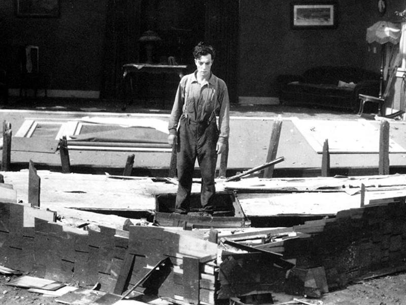 Steamboat Bill Jr.'s Famous Tornado Scene