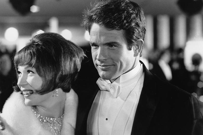 Warren Beatty and Shirley MacClaine