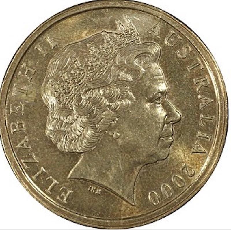 2000 Australian $1/10 Mule