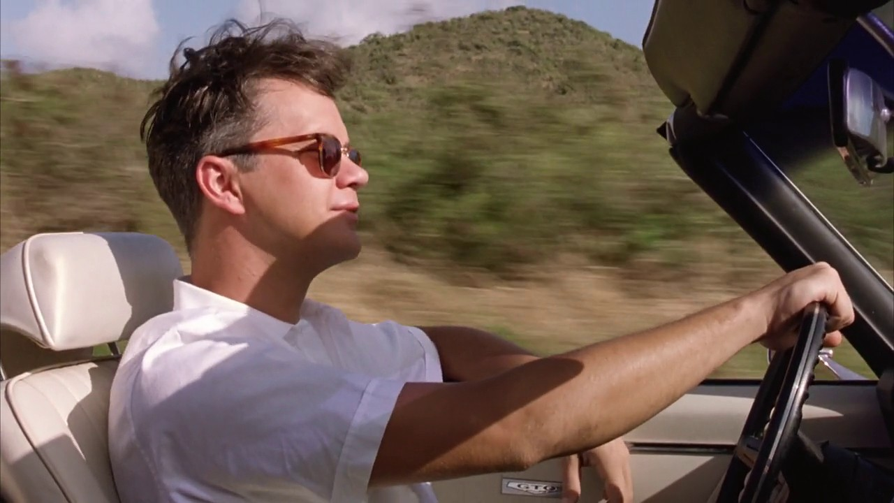 Andy Dufresne driving