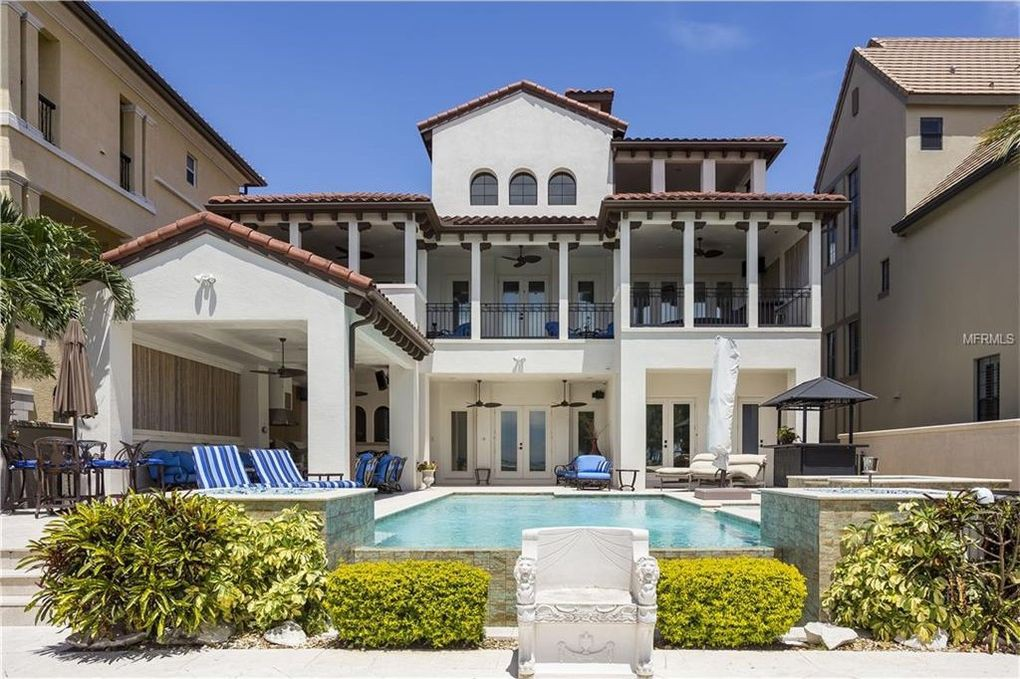 Gronk's former home in Tampa