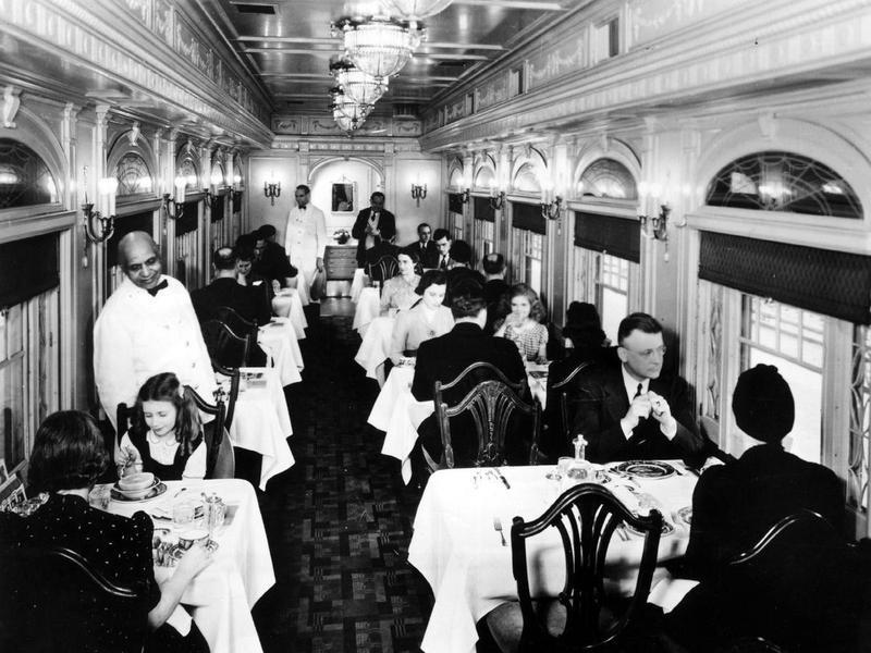 Martha Washington dining car