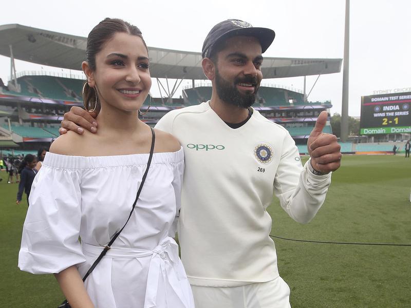 Anushka Sharma and Vikat Kohli