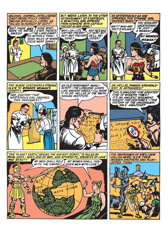 Wonder Woman No. 1 in 1942