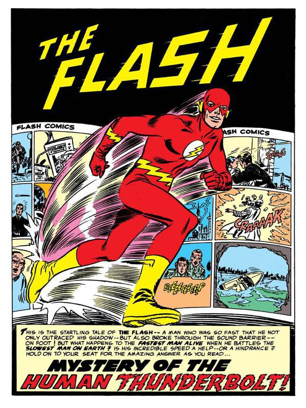 First appearance of the Flash