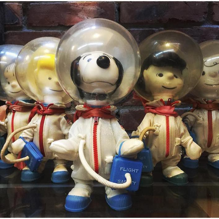 Snoopy Astronaut and other toys