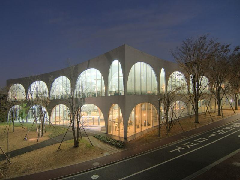 Tama Art University Library, Japan