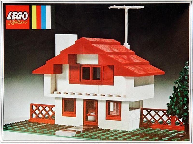 Lego Swiss chalet