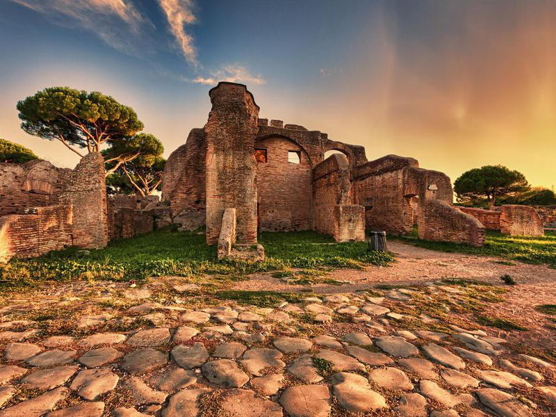 Building in ancient Rome