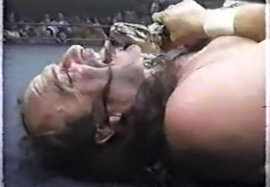 Jake the Snake Roberts Heroes of Wrestling match
