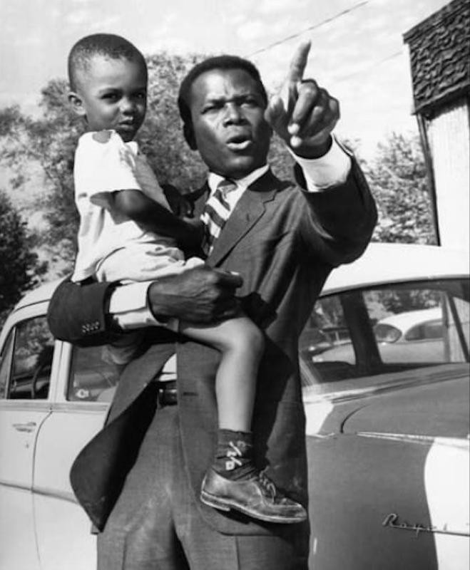 Sidney Poitier in In the Heat of the Night