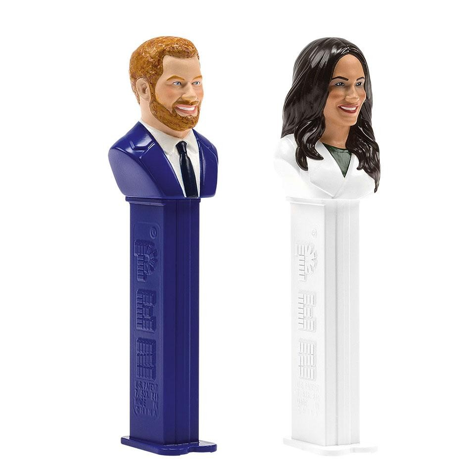 Meghan Markle and Harry Pez dispensers