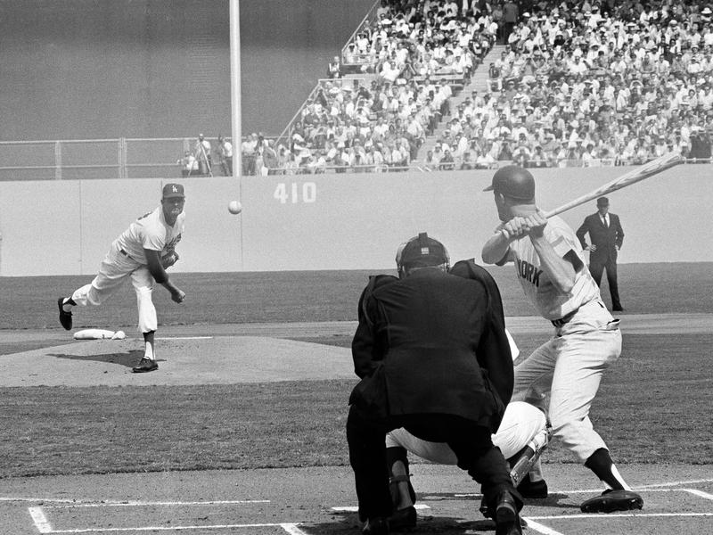 1963 World Series at Dodger Stadium