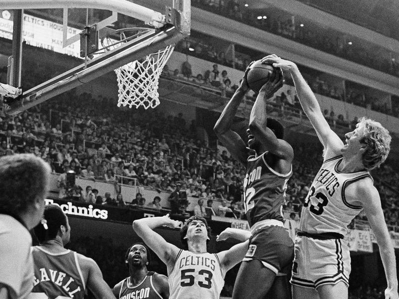 Larry Bird and Bill Willoughby
