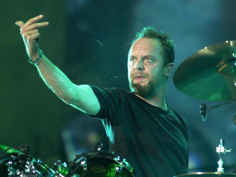 Lars Ulrich in 2003