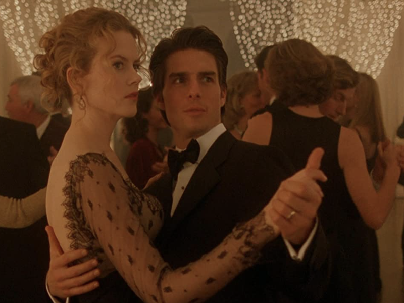 Nicole Kidman & Tom Cruise in Eyes Wide Shut