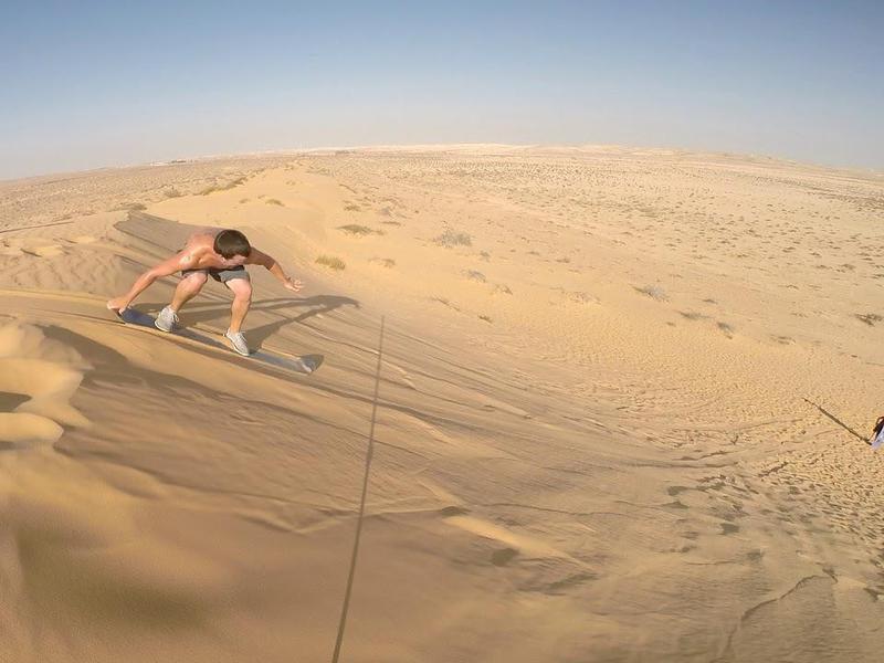 Israel Sand-Surfing