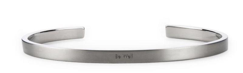 Be Well wrist cuff