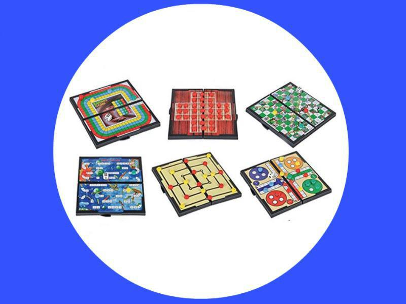 Magnetic Board Game Set by GAMIE
