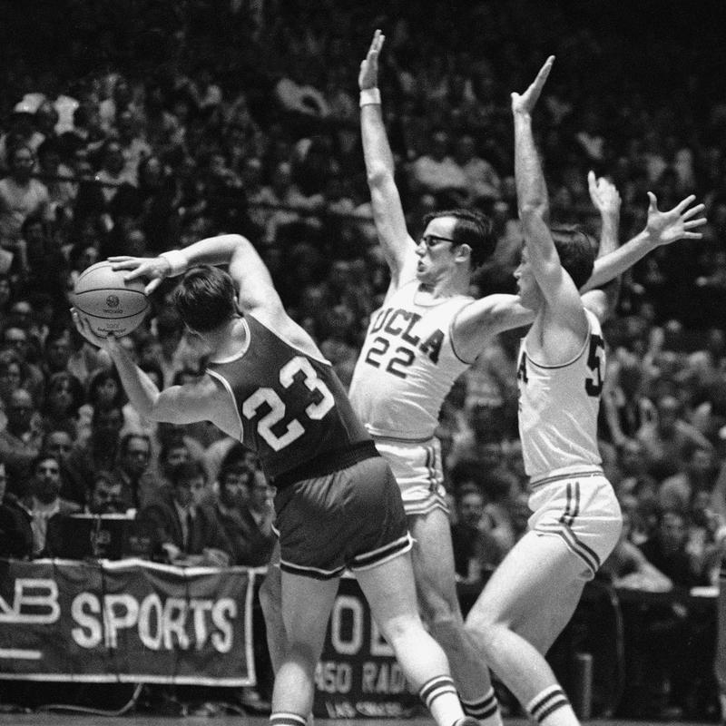 UCLA players Kenny Heitz and Lynn Shackelford